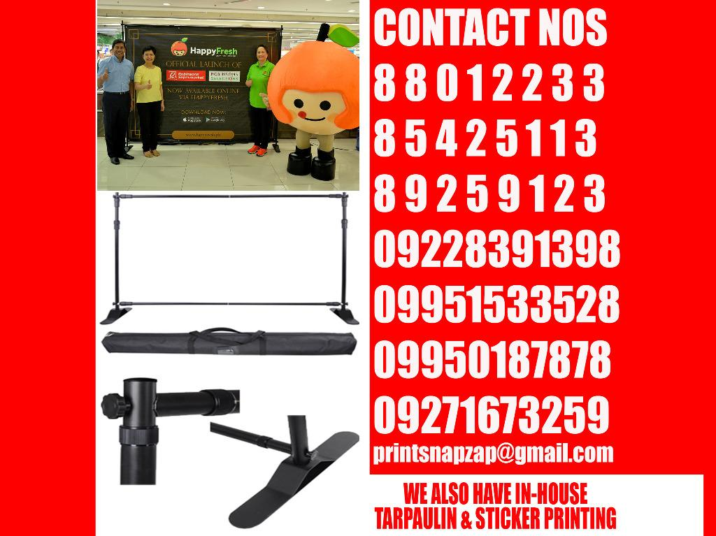 Backdrop Stand Heavy Duty Adjustable Banner Backdrop Stand All Metal