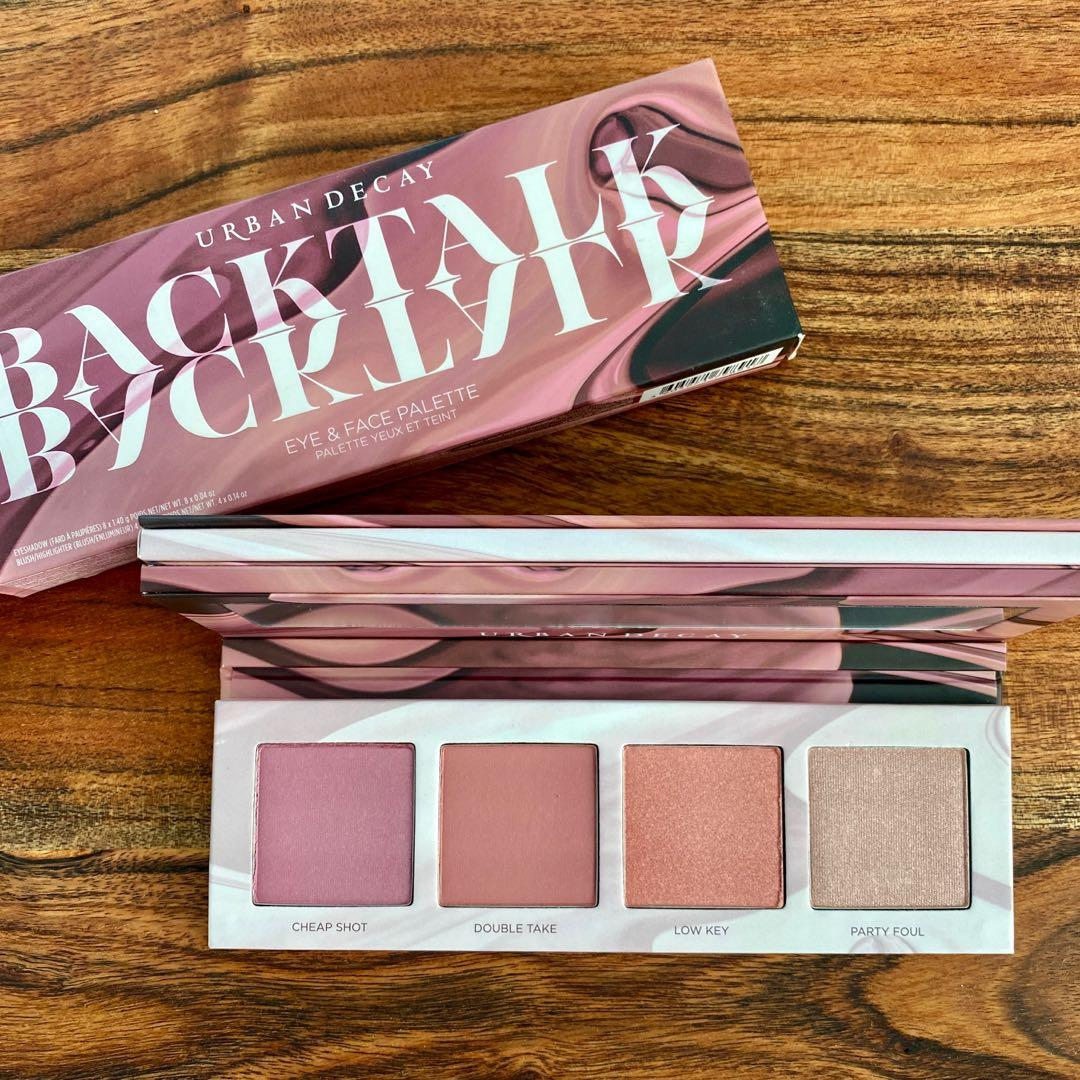 Urban Decay Backtalk Eye & Face Palette Limited Edition