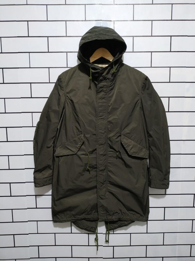#bersihmaret GLOSTER JAPAN PARKA FISHTAIL THRIFTING SECONDBRAND