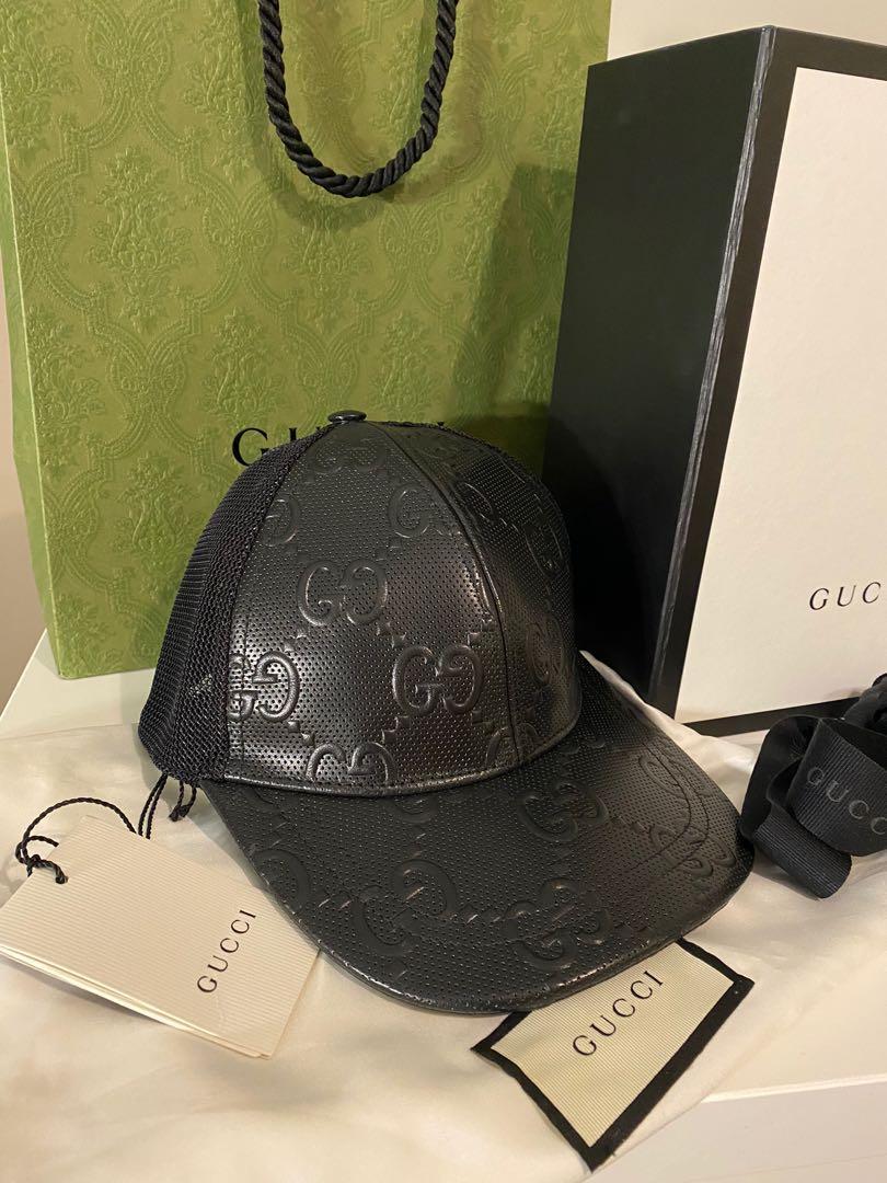 Black Gucci Hat