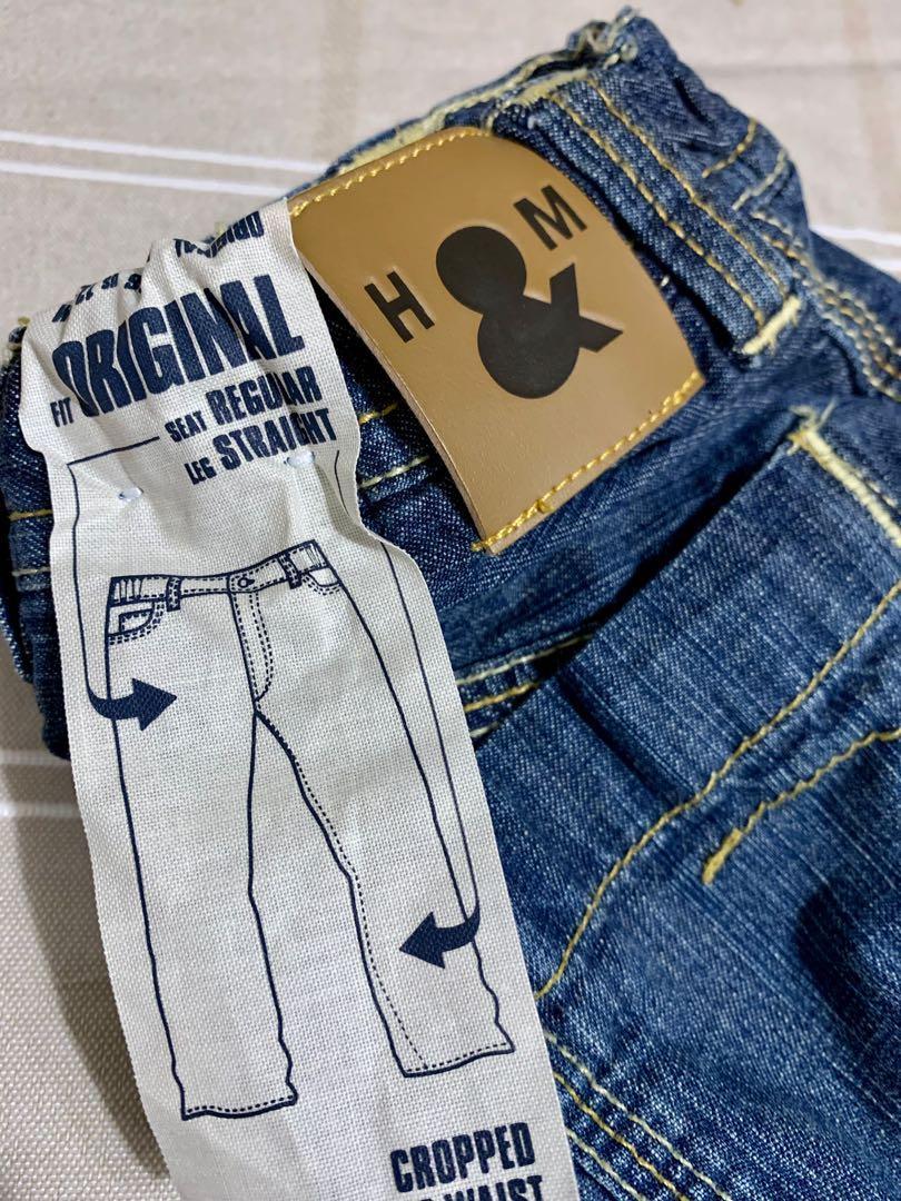 Brand new H&M infant boys denim shorts sz 12-18m