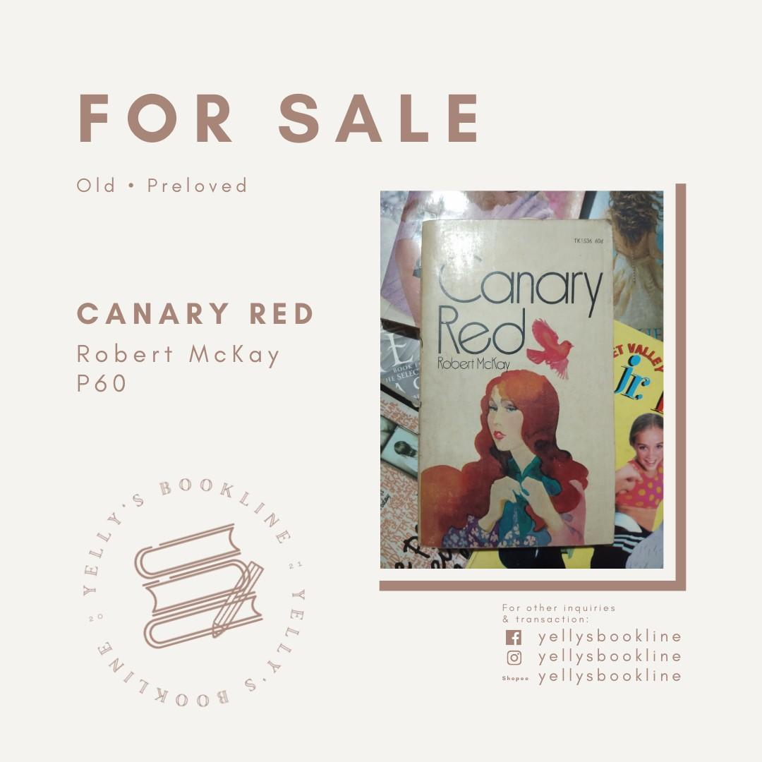 Canary Red by Robert McKay