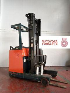 CERTIFIED USED (Bronze) Toyota Reach Fork 1,500 kg 1.5 tons