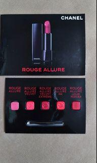Chanel Lipstick 唇膏 sample 試用裝 旅行裝