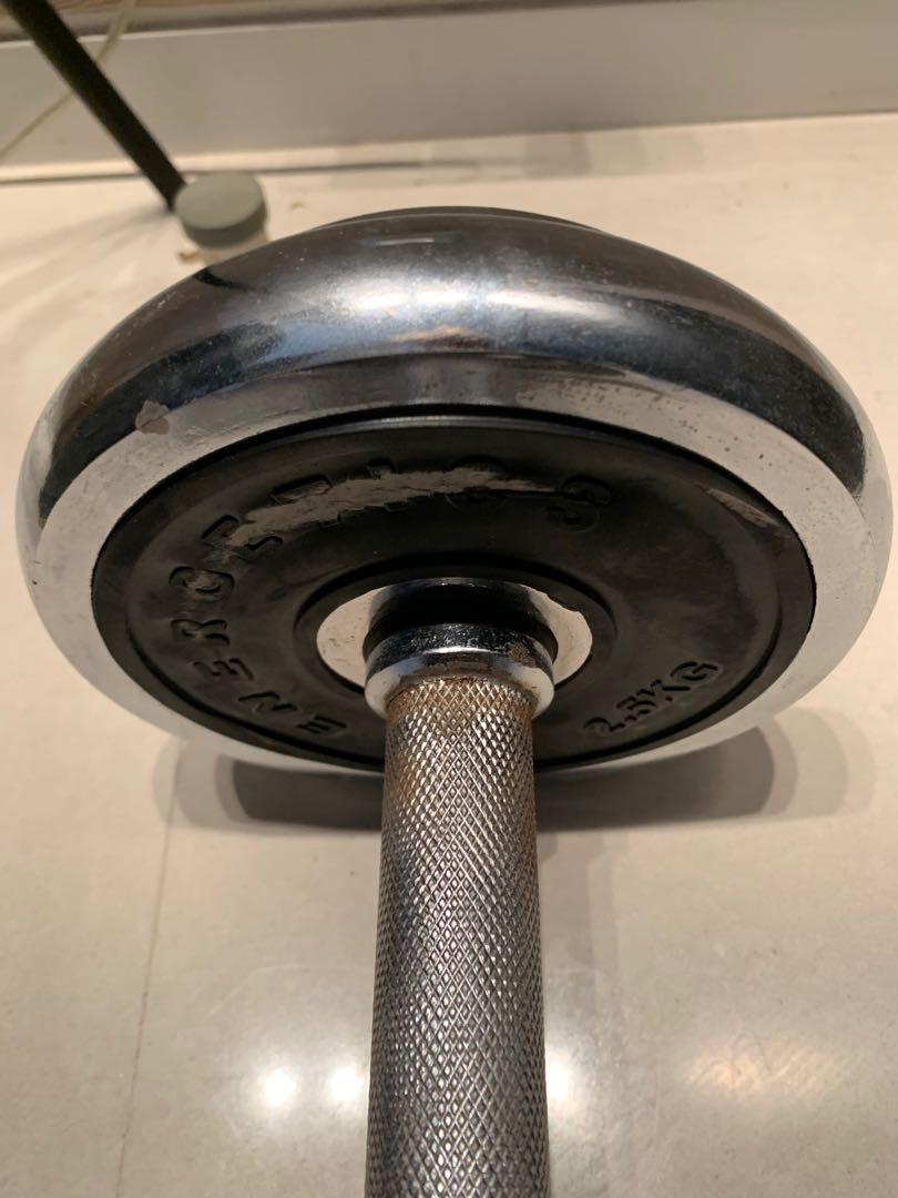 Dumbell 10kg used