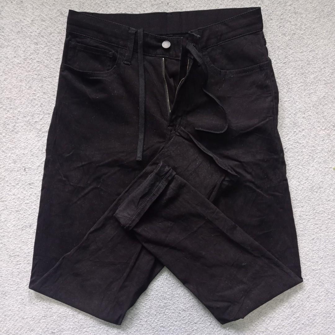 Ezy jeans/semi jogger uniqlo