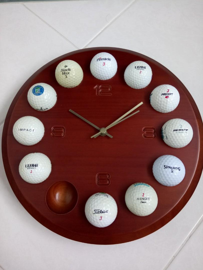 "Golf Clock 12"""