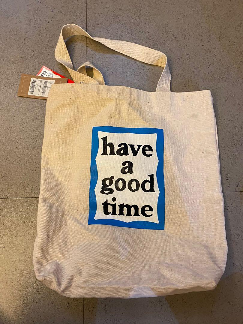 have a good time 潮流文青包 布包 帆布包