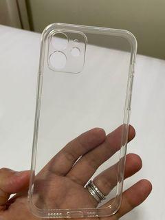 Iphone 12 clear transparent casing