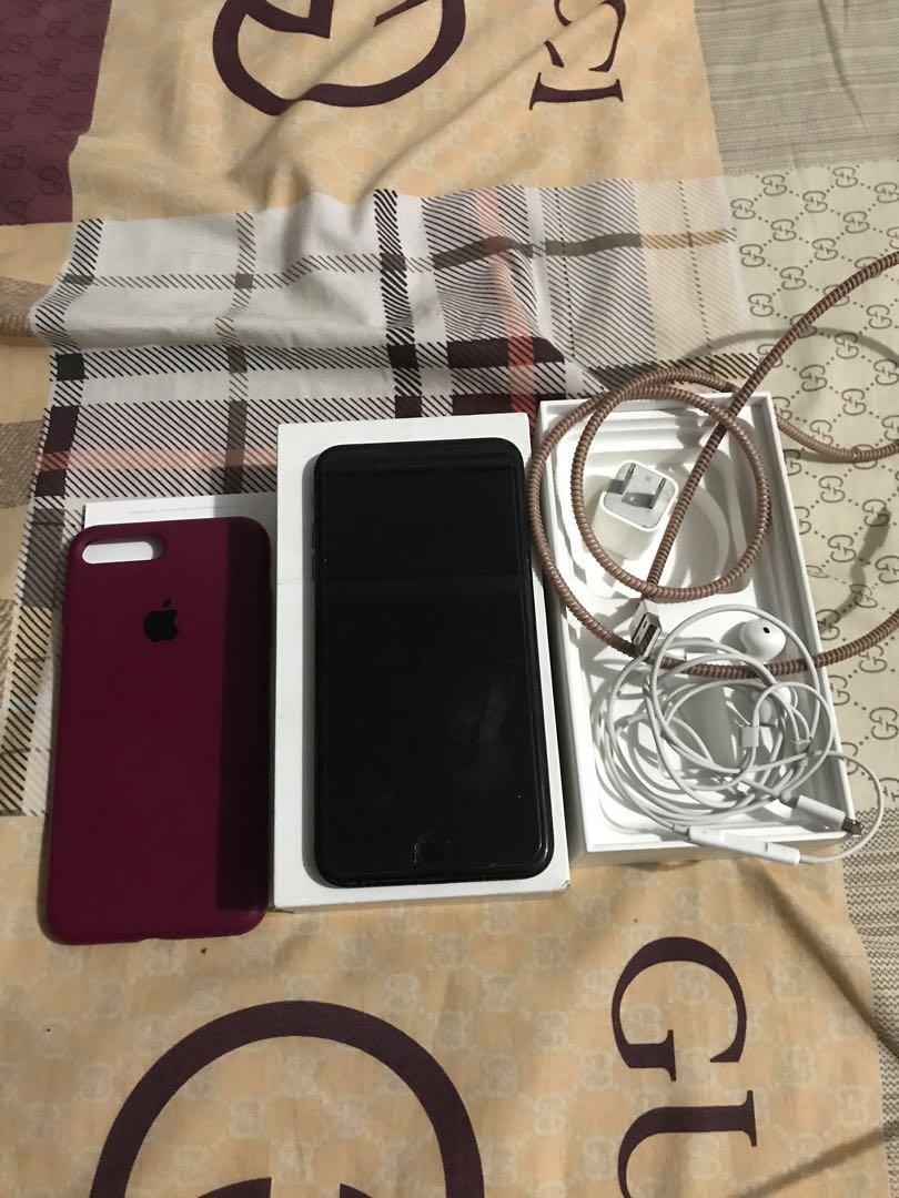 Iphone 7 plus jetblack