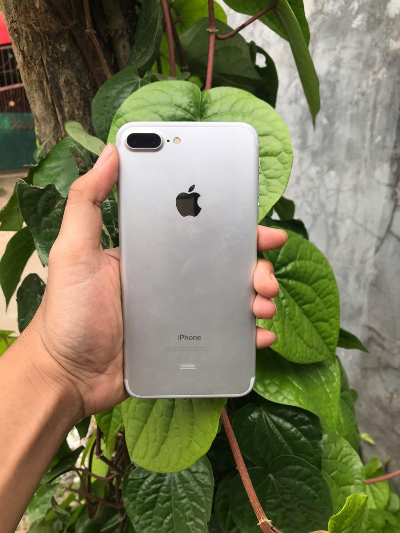 iPhone 7 Plus Silver 128 Gb Ex Ibox