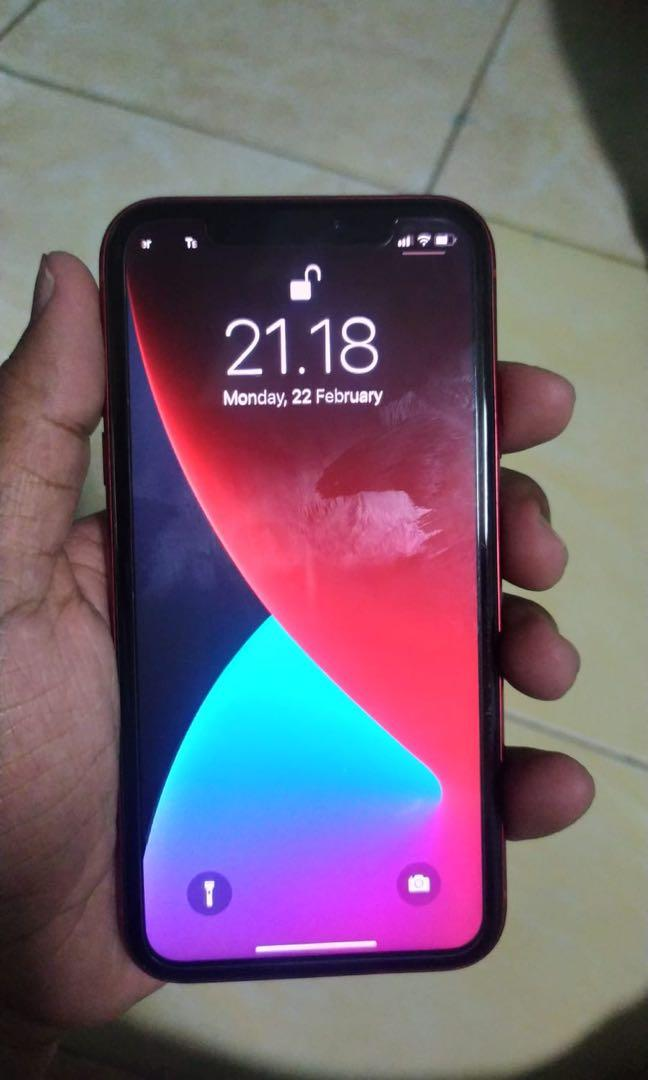 Iphone XR 64gb Red Edition