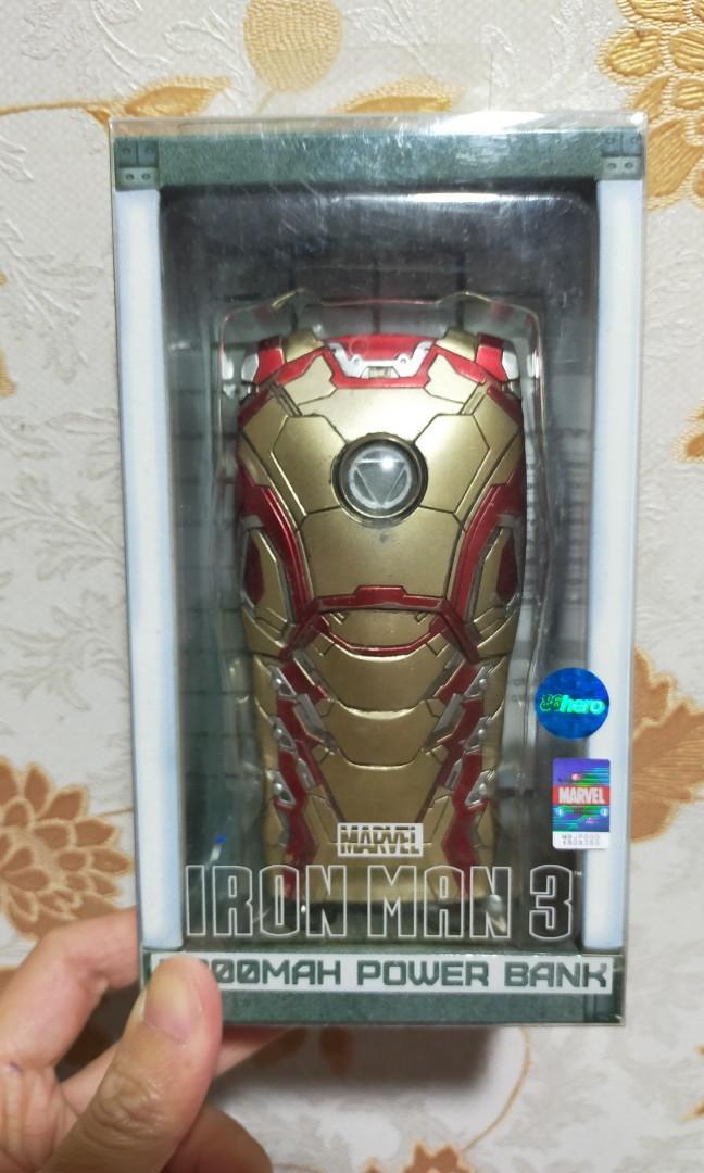 Ironman戰損版,充電寶