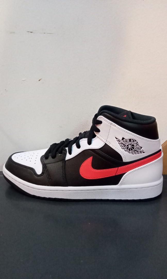 Jordan 1 Black Chill Red