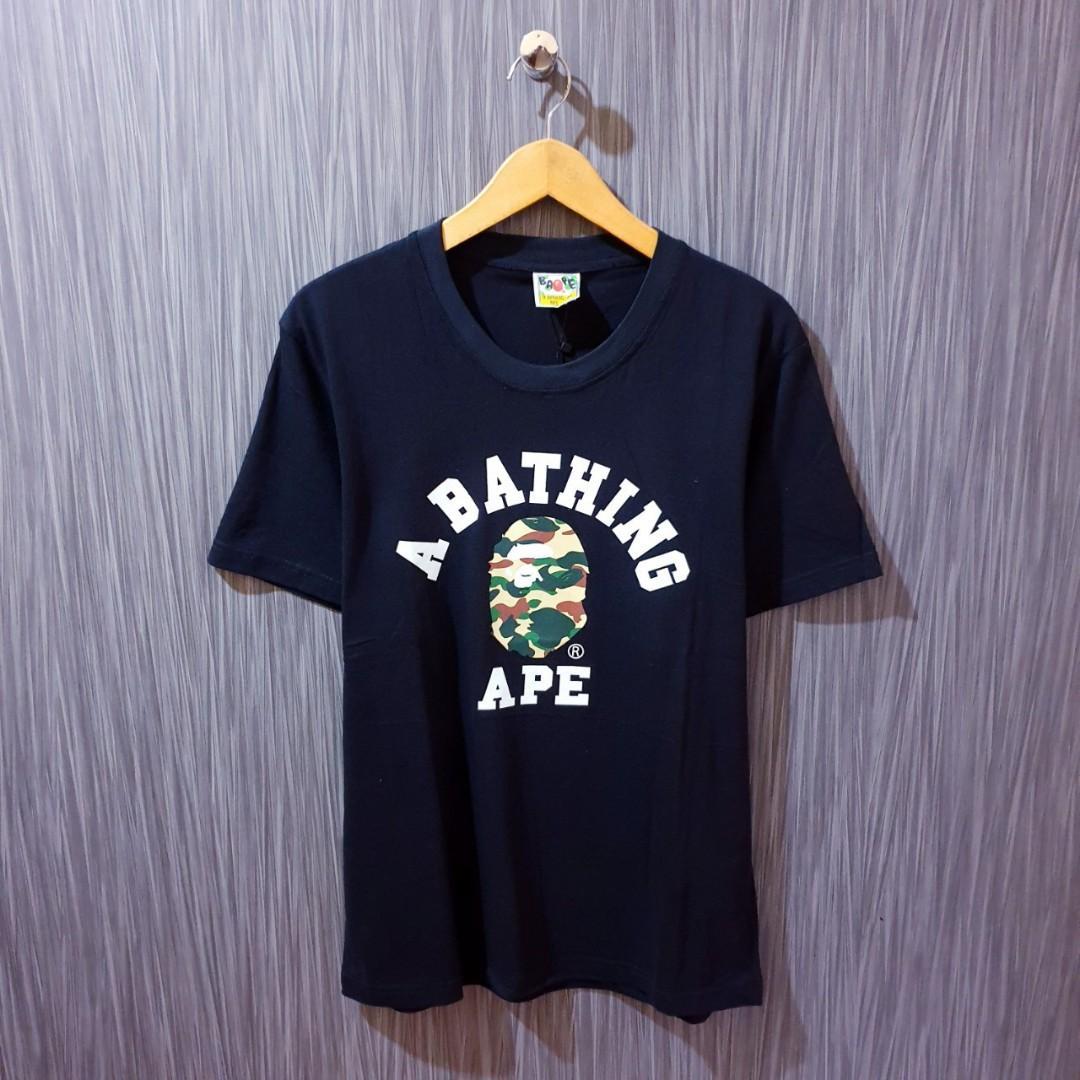 Kaos tshirt a bathing ape premium