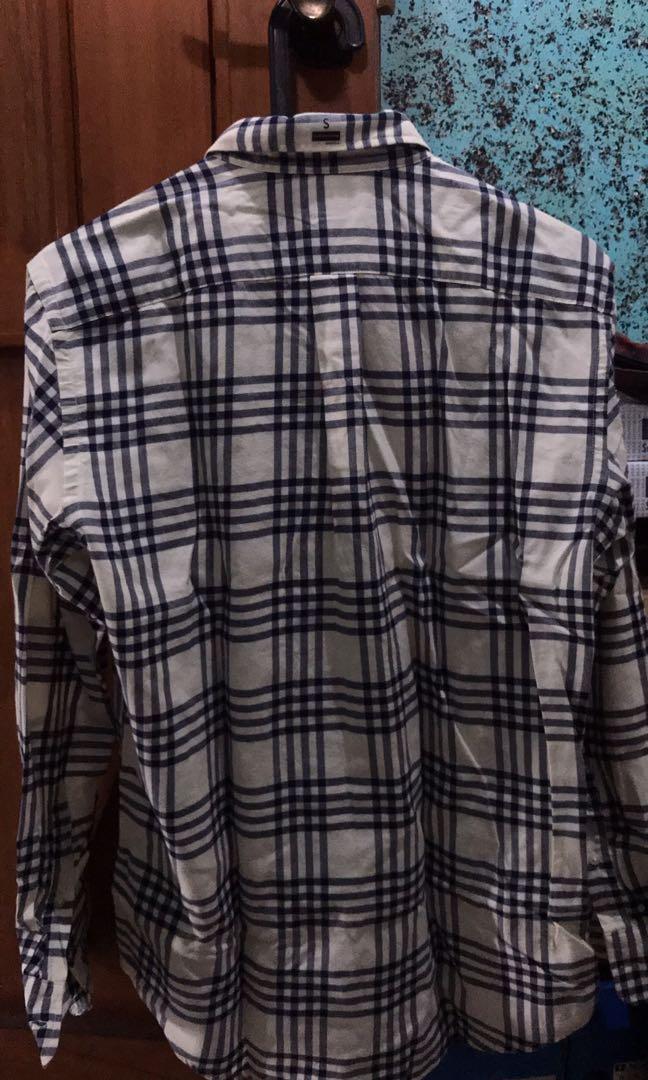 kemeja flannel kotak