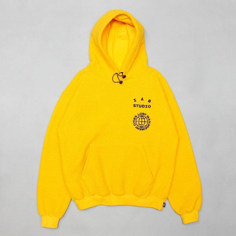 【工工】LMC x Iab Studio BOA Fleece Hoodie 聯乘活動限定系列 立絨帽T 黃色