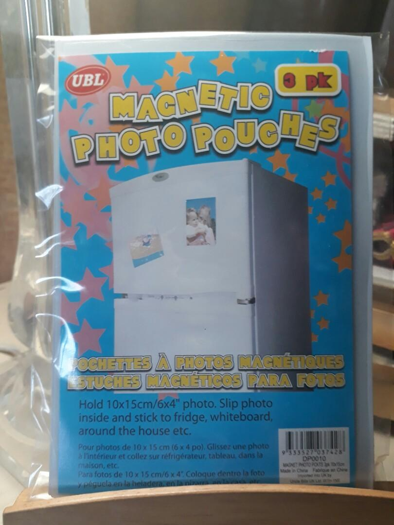 Magnetic Photo Pouches / Pockets