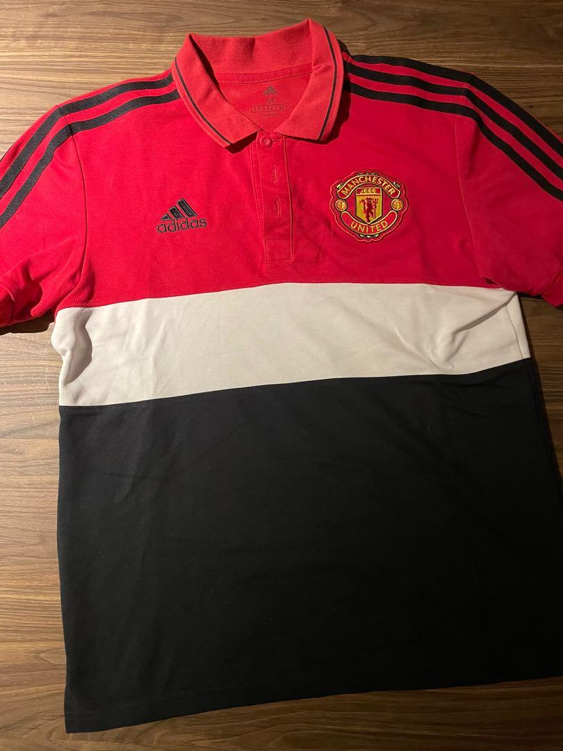 Manchester United 19/20 Adidas Polo Tee