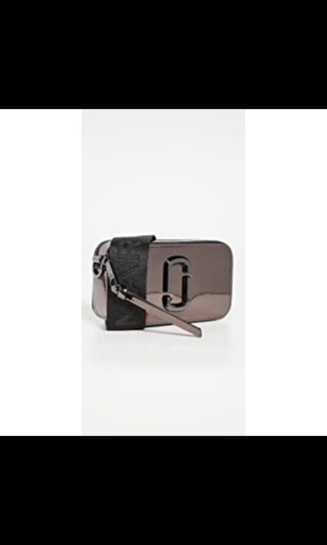 Marc Jacobs鏡面鎳色相機包