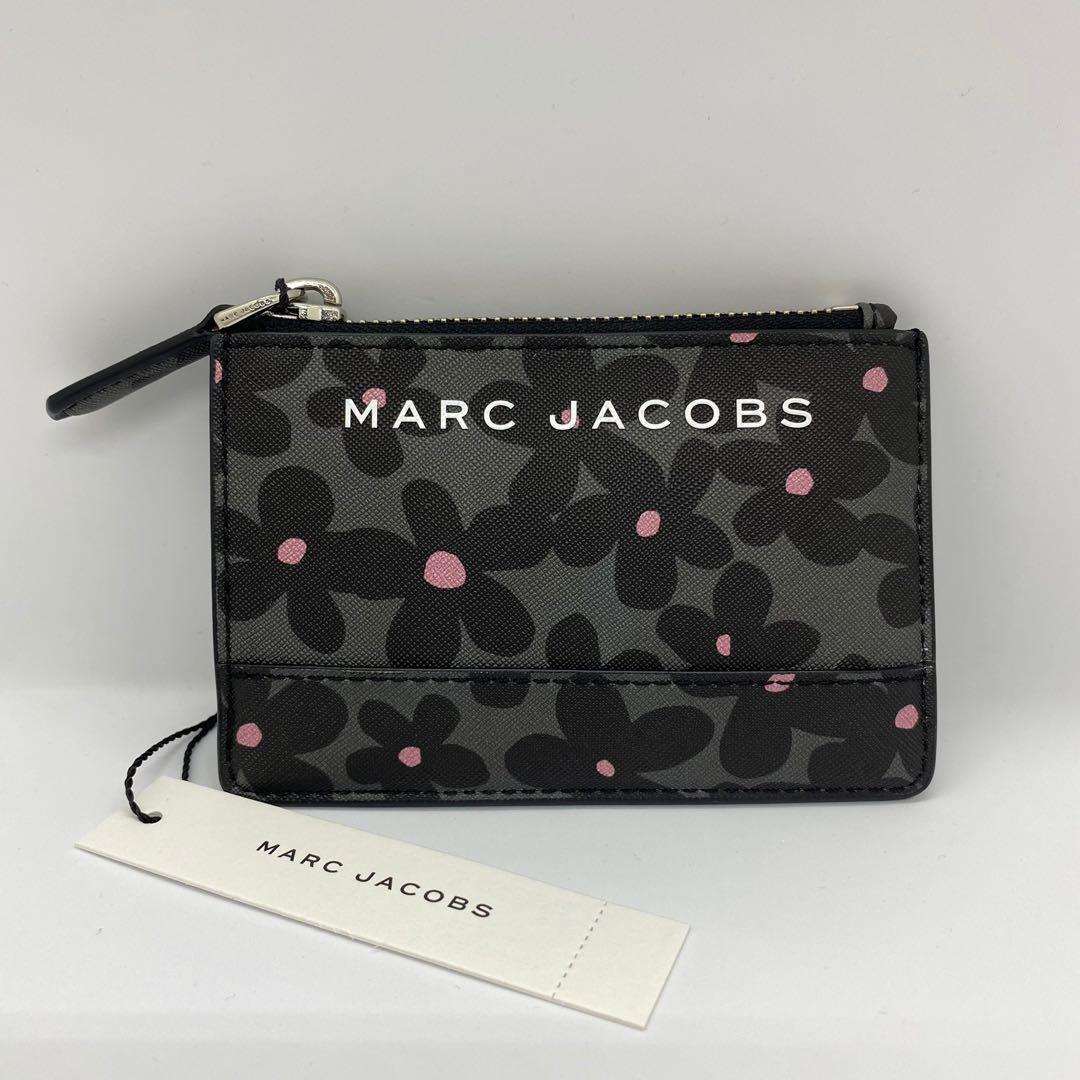 Marc Jacobs花花零錢鑰匙卡包