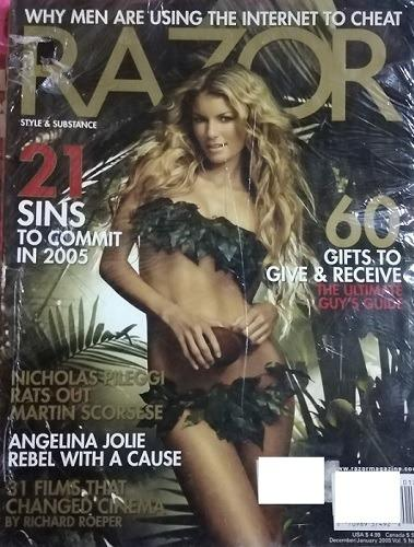 MARISA MILLER on Razor Magazine
