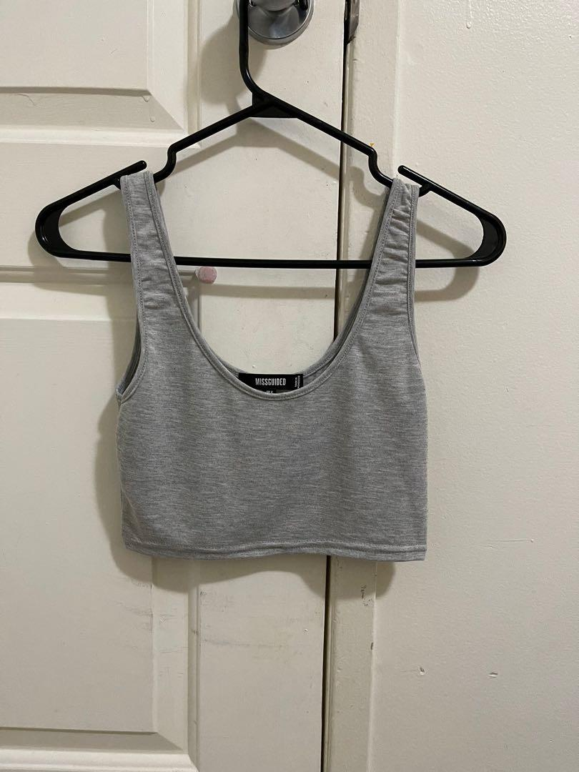 Misguided Crop Tank Tops