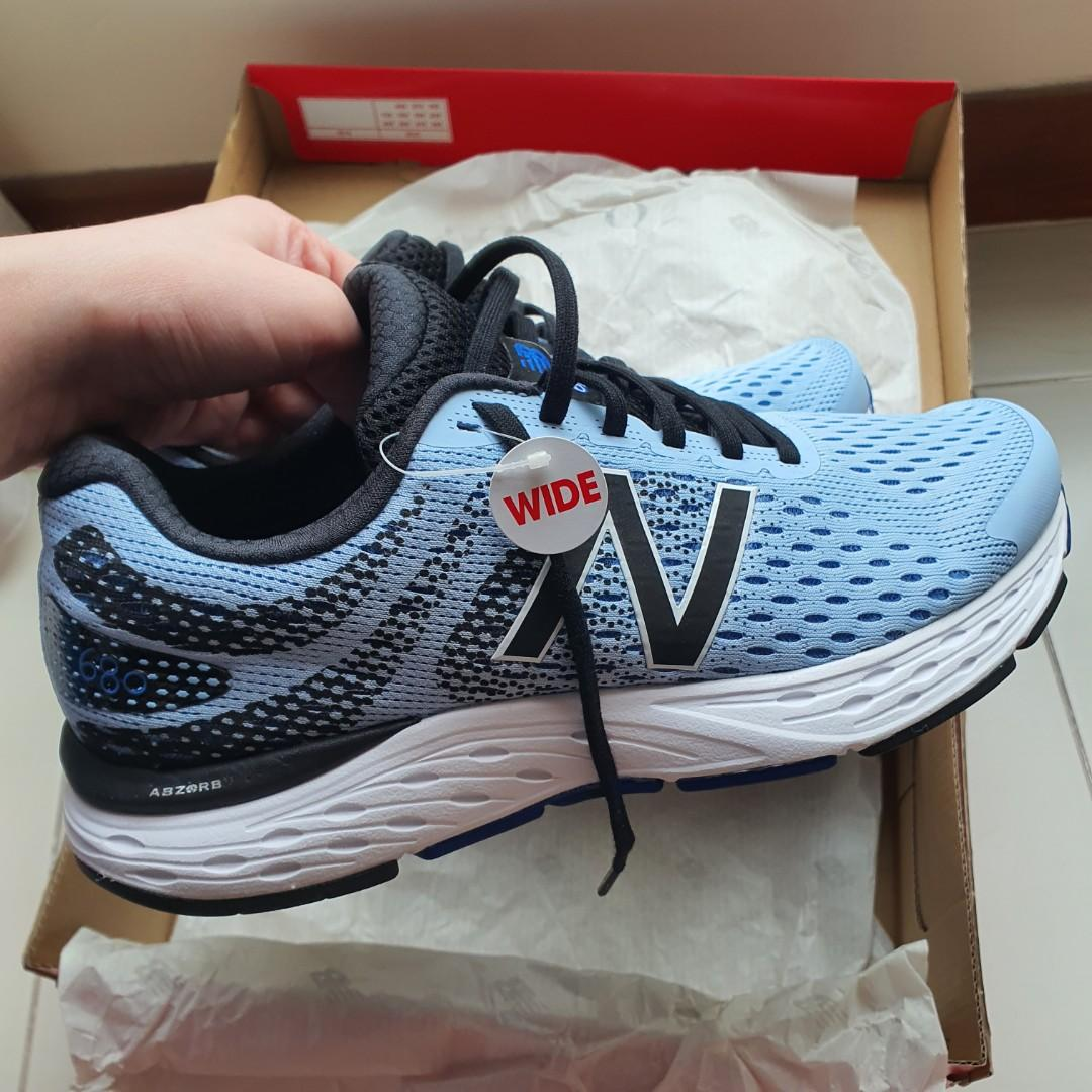 New Balance Running Shoes Ladies Womens 680v6 Size 10/27cm