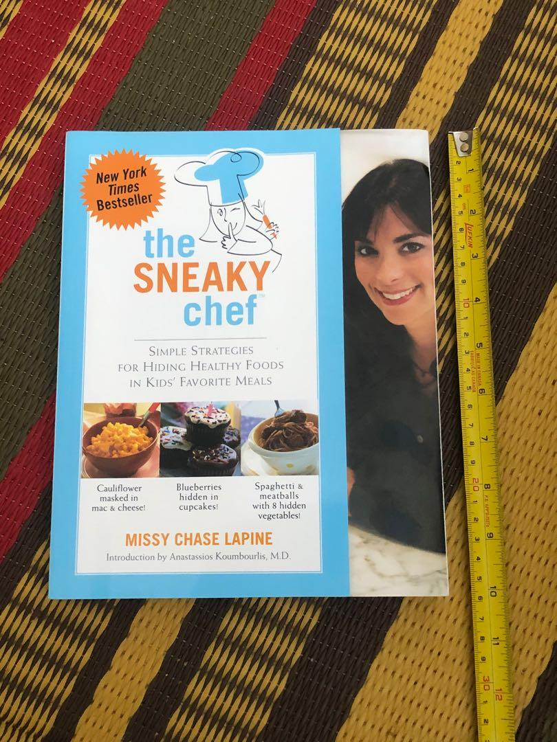 NEW The Sneaky Chef cookbook
