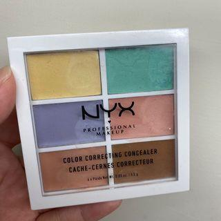 NYX六色修容遮瑕盤