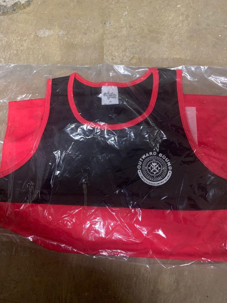 OBS Red Singlet/Tank top Size XS