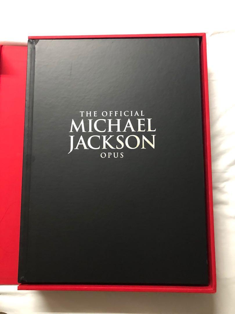 Official Michael Jackson Opus rare collectible book