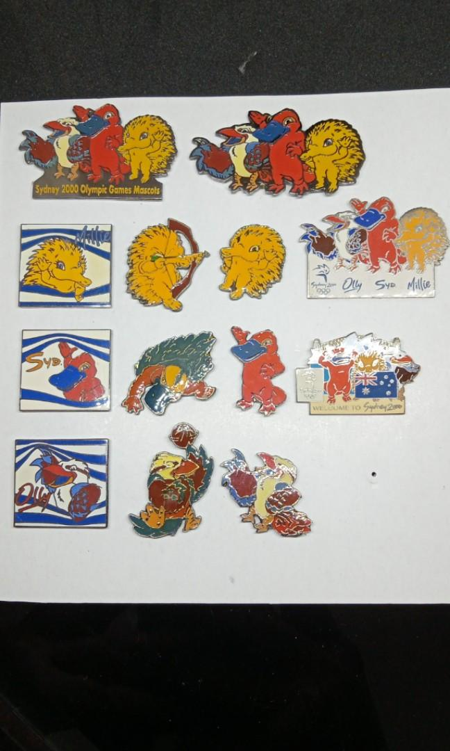 Pin Olympic Sydney 2000 take all