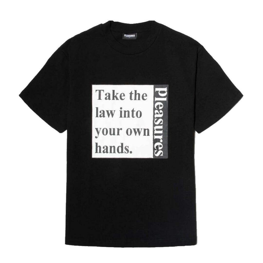 Pleasures Lawless Heavy Wight T-Shirt Black
