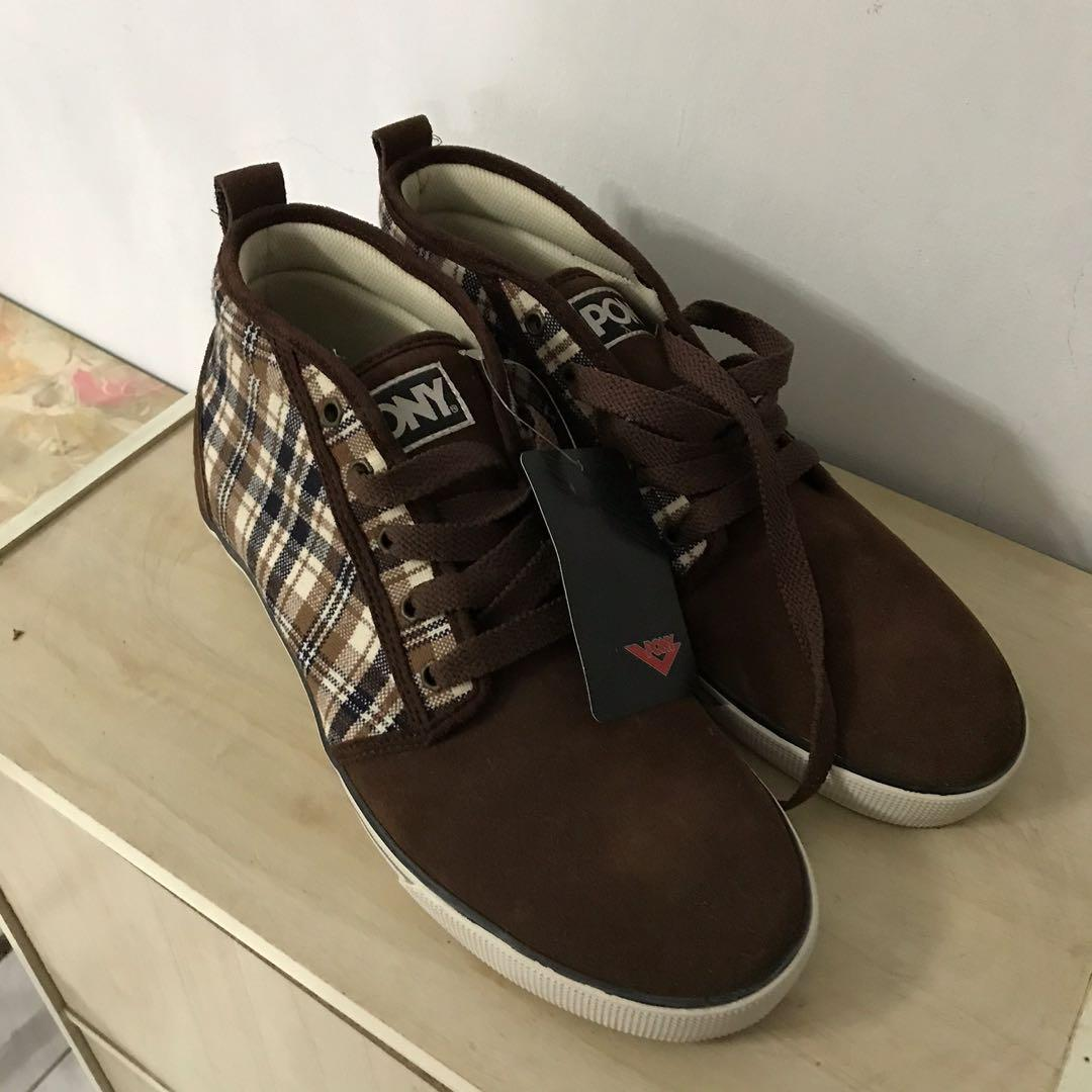 PONY高筒休閒鞋