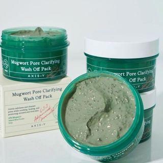 [READYSTOCK ] AXIS-Y Mugwort Pore Clarifying Wash Off Pack 100ml