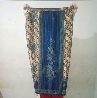 Rok Kebaya batik biru