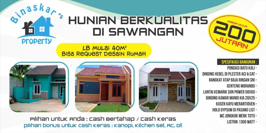 Rumah murah sawangan