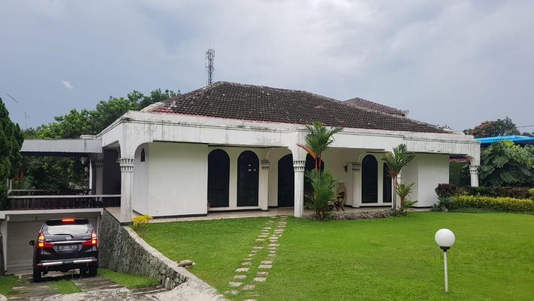 Rumah Tajur Bogor depan jalan