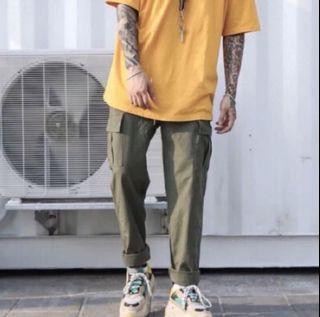 綠色工裝褲(s)