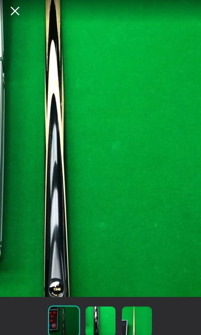Snooker cue. It's a bit nice!