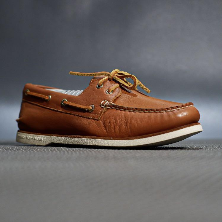 Sperry top sider goldcup glove tan leather original