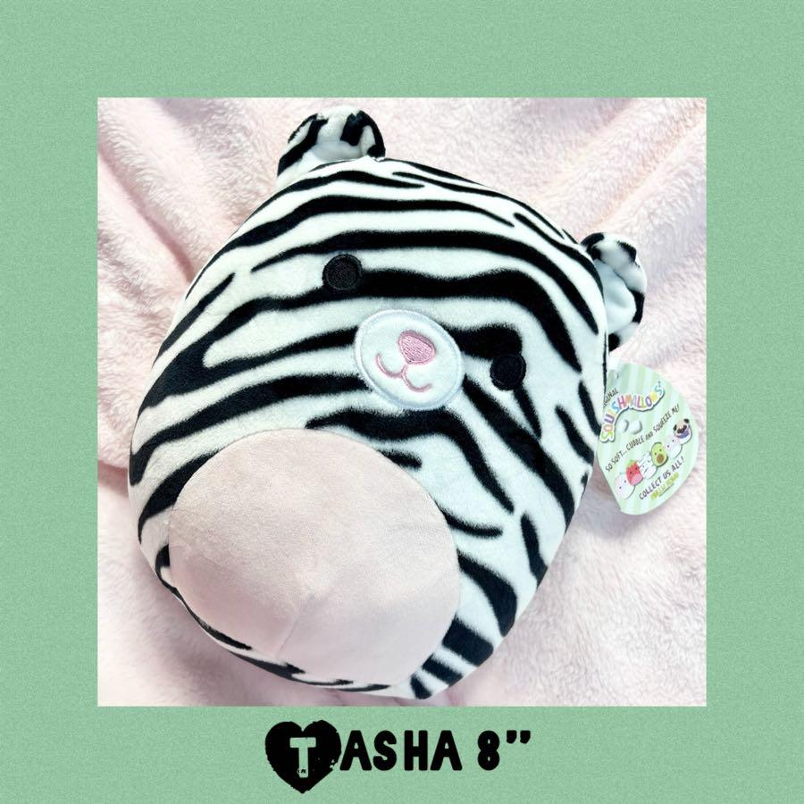 "Spring Tasha Squishmallows Tiger 8"" Plush Easter 2021"