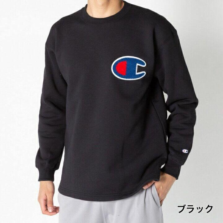 Sweatshirt big logo champion