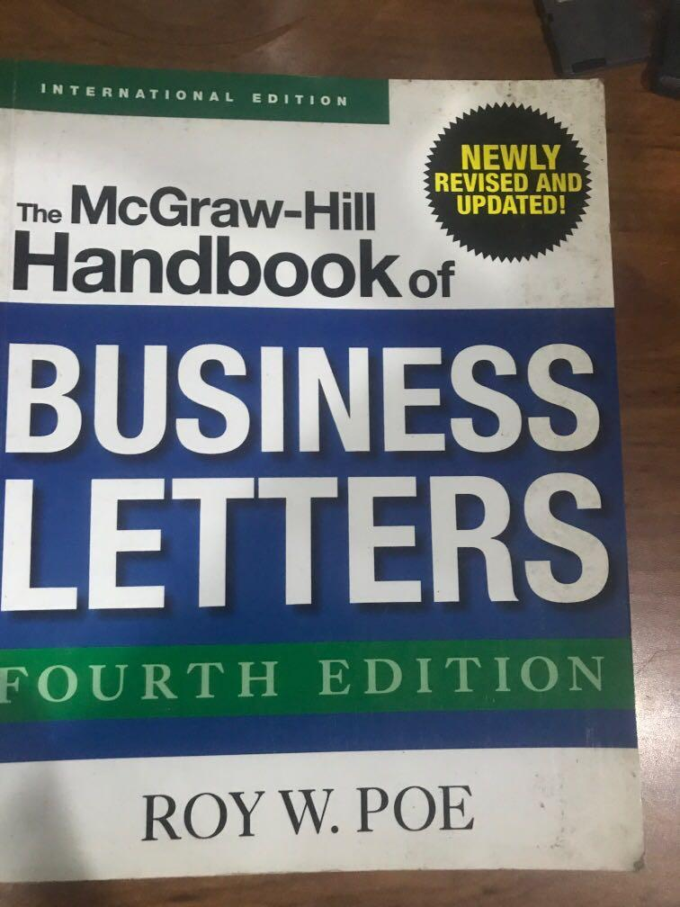 The McGraw-Hill Handbook of Business Letters