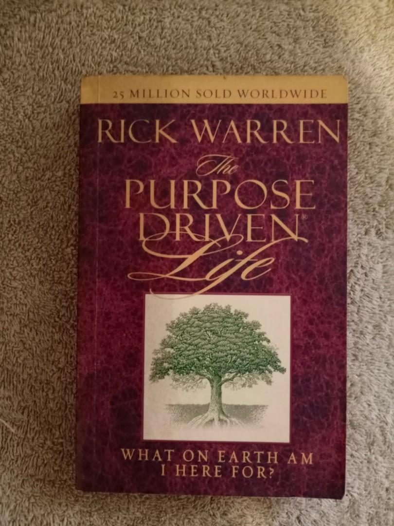 The purpose of a Driven life