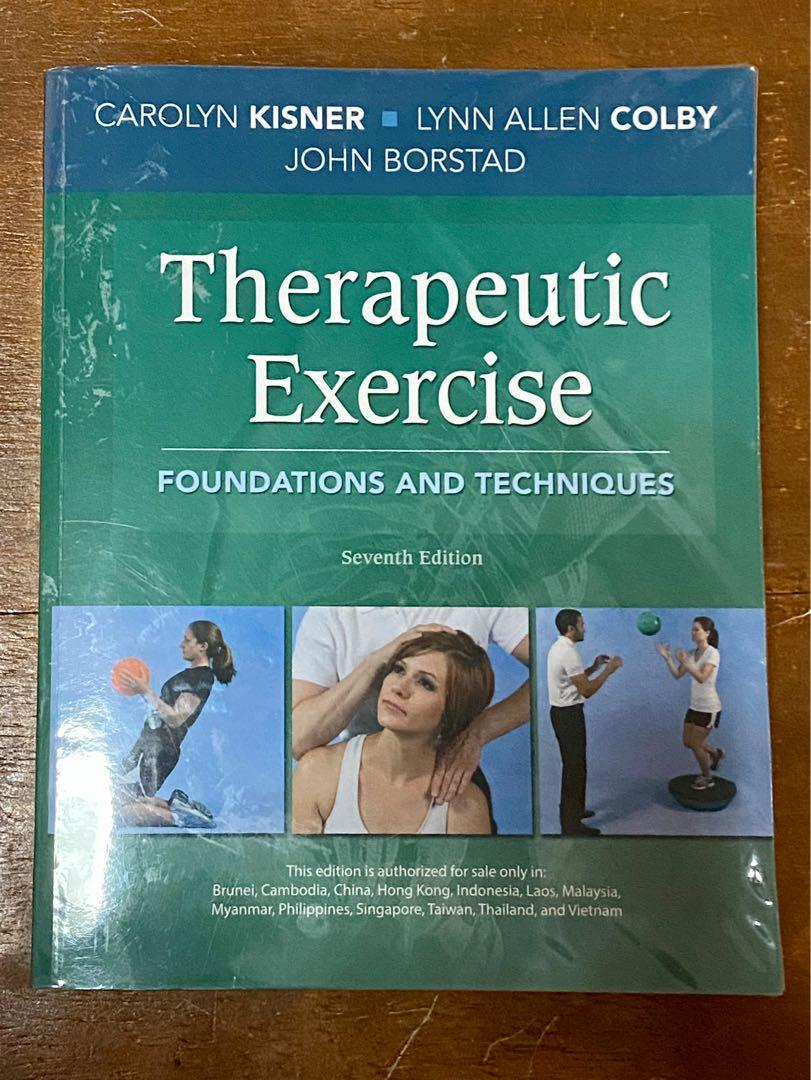 Therapeutic Exercise by Kisner and Colby (7th Ed)