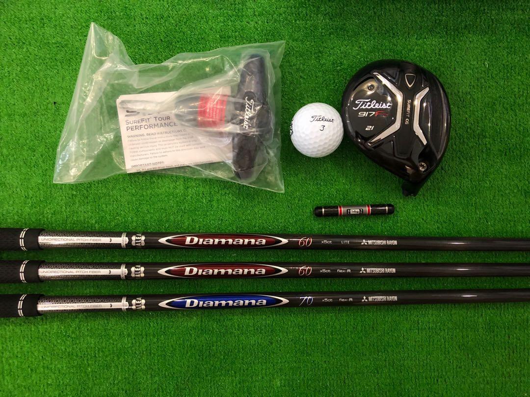 Titleist 917 F2 21deg (7 Wood) (With Diamana Shaft Options)                          (Fairway Wood Golf Club)                              [Excellent Condition]