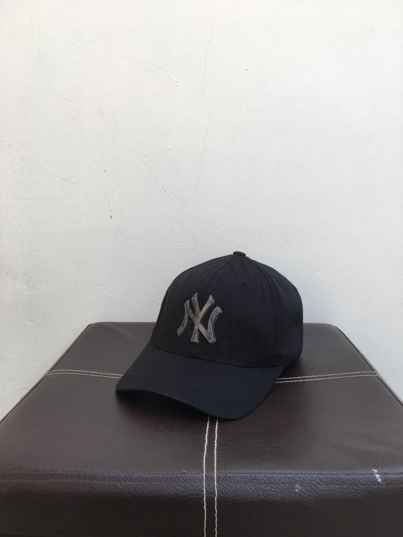 Topi MLB NY logo besi