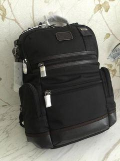TUMI 黑色&藍色15寸電腦雙肩包 222681(升級版)